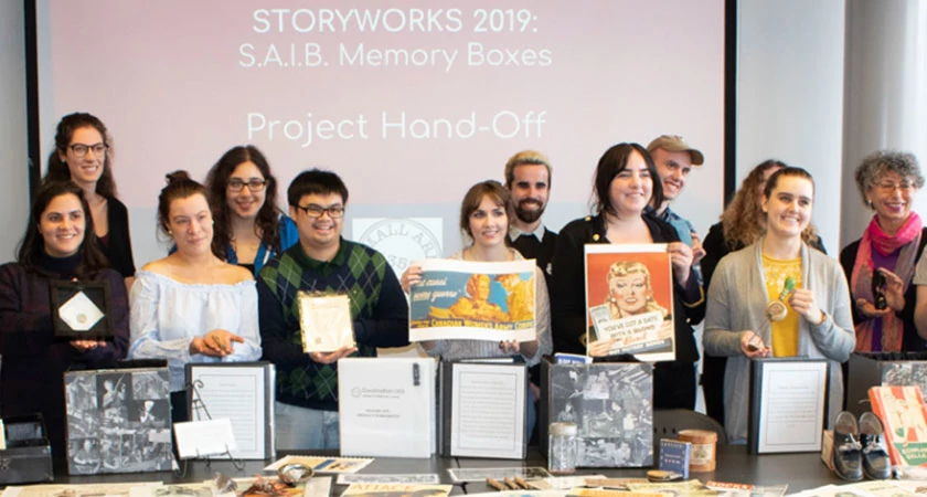 Story Art Centre's Museum Students Create Significant Contribution to WW2 Collection Image