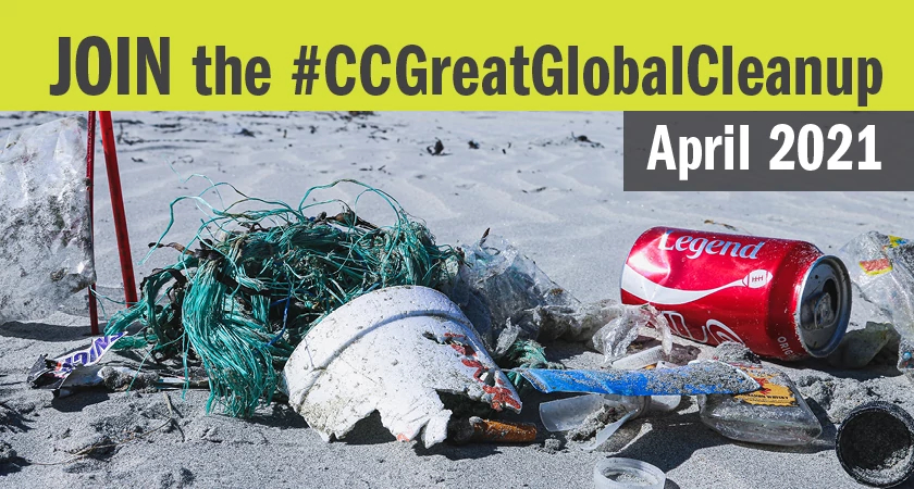 Join the #CCGreatGlobalCleanup in April 2021