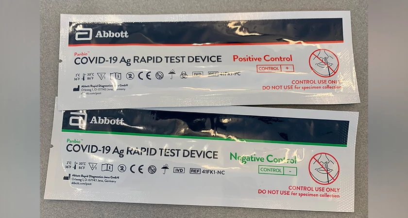 The two types of rapid antigen tests