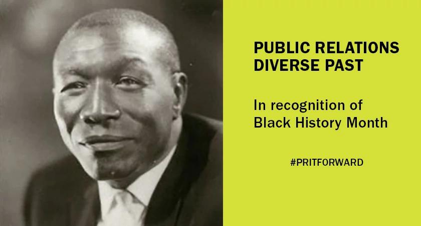 Joseph V. Baker public relations pioneer