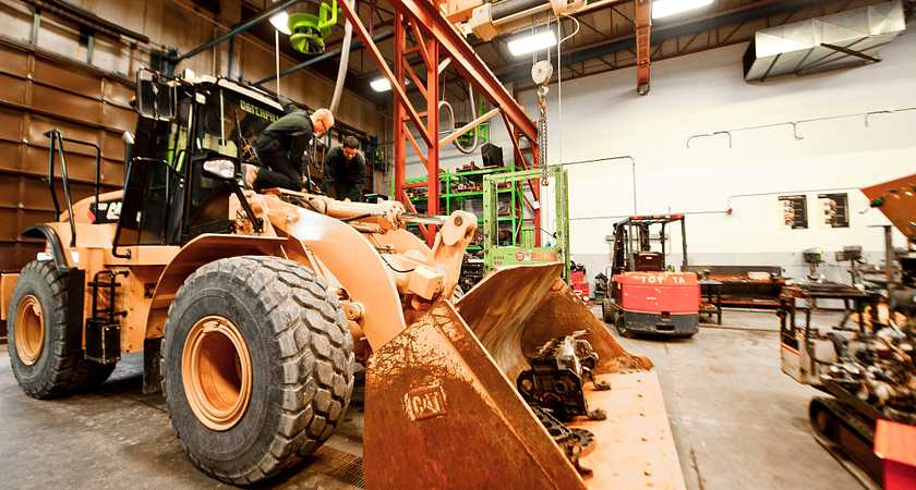 Keep those mighty machines moving as a Heavy Duty Equipment Technician image