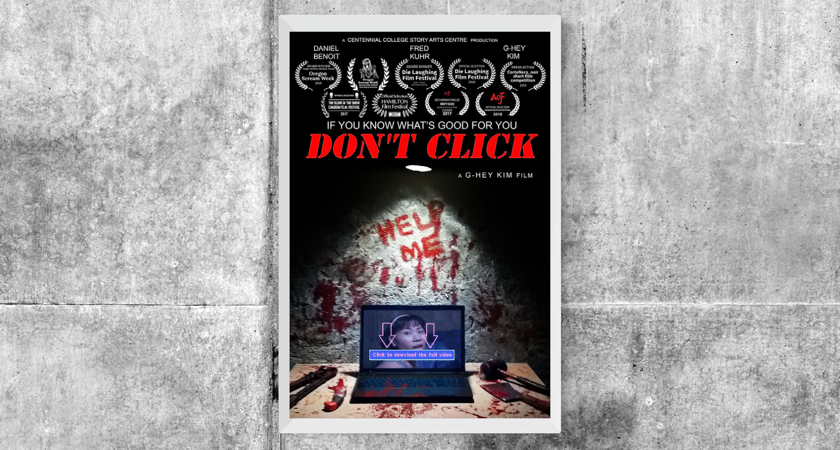 Don't Click Movie Poster