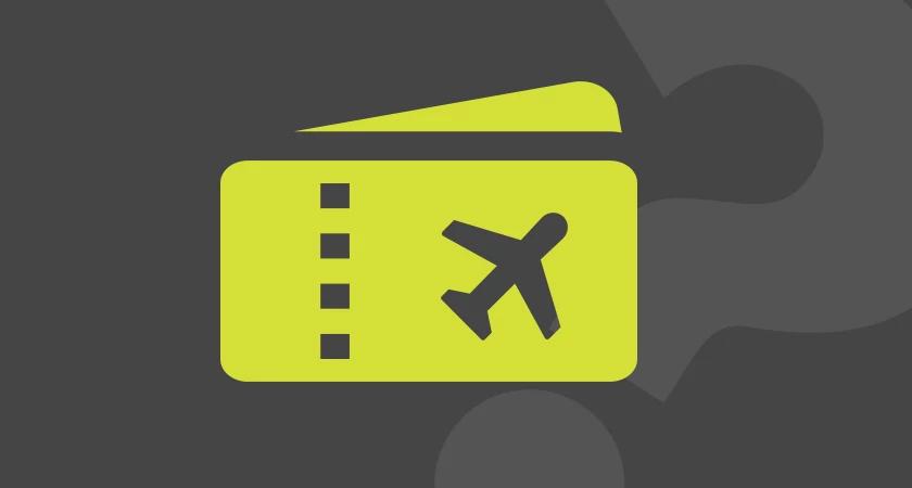 Icon depicting a passport