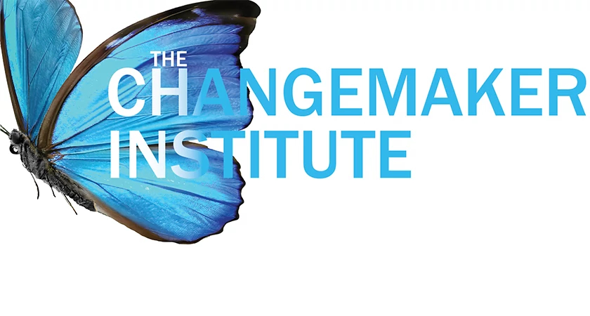 Banner that says The Changemaker Institute