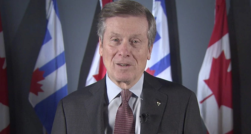 A special message from Toronto Mayor John Tory Image