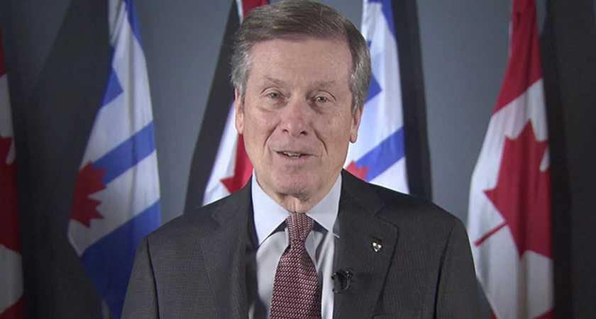 A special message from Toronto Mayor John Tory