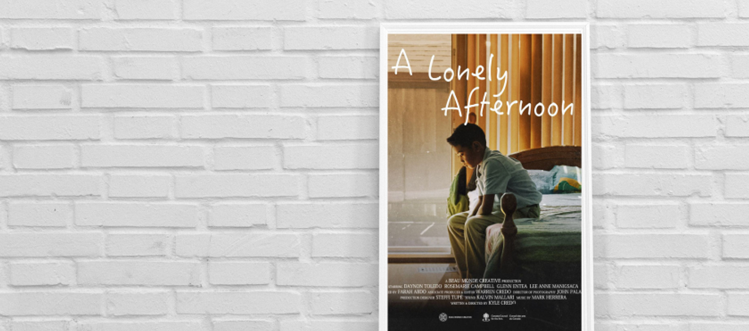 Broadcasting Grads' Film, A Lonely Afternoon, Screens at Reel Asian International Film Festival Image