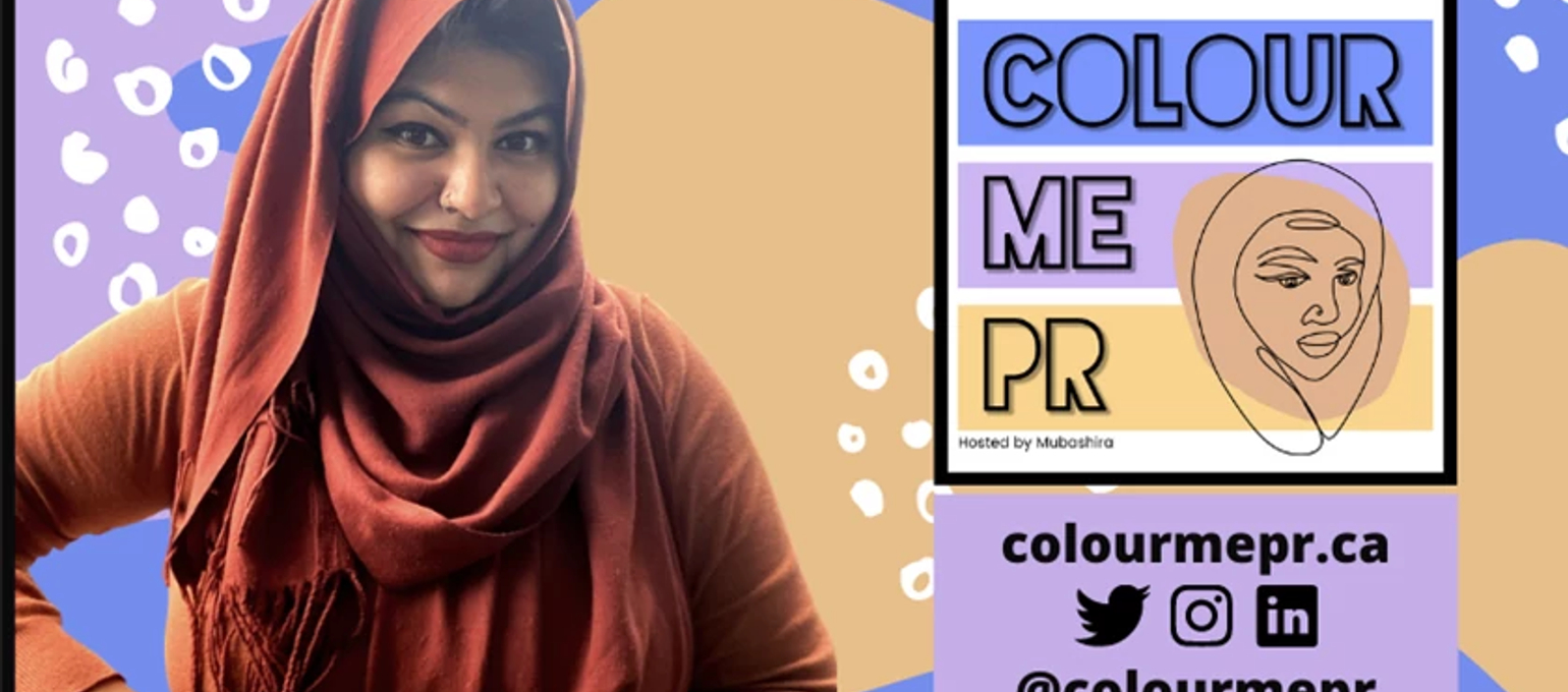 A Behind-The-Scenes Look at PR Grad's New Podcast: Colour Me PR Image