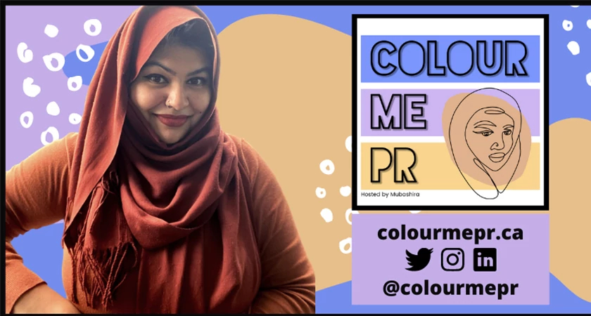 Cover art for the Color Me PR Podcast