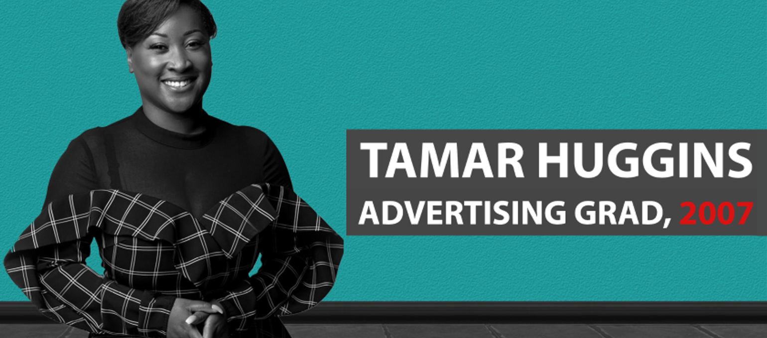 Advertising Grad Tamar Huggins Talks Social Entrepreneurship & Her Company Tech Spark Image
