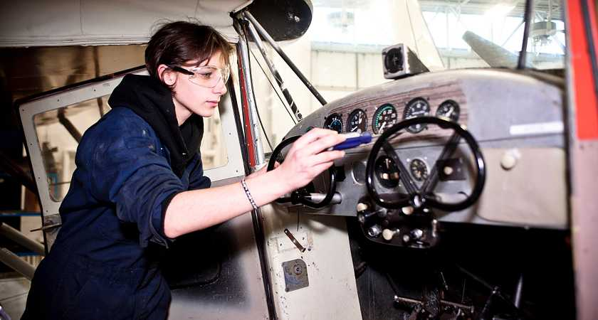High Flying Facts about an Aircraft or Avionics Maintenance and Management Career image