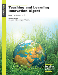 Thumbnail cover of the Teaching and Learning Innovation Digest Fall 2015 Issue 1