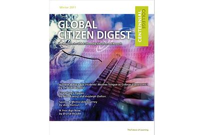 Global Citizen Digest cover Winter 2011
