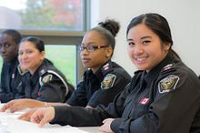 Being a Woman Enrolled in Police Foundations Image