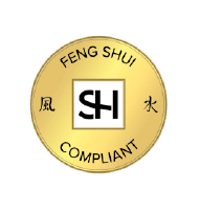 Picture of the Sharon Hay International Feng Shui Compliant seal of approval