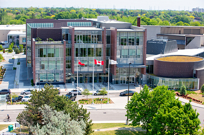 Picture of Centennial College Progress Campus library building