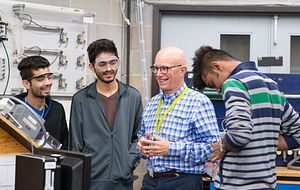 Picture of Centennial College Engineering Students