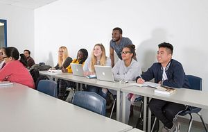 picture of centennial college students attending our positive space training
