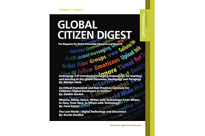Global Citizen Digest cover Volume 2 Issue 2