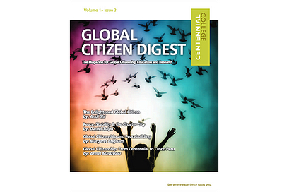 Global Citizen Digest cover Volume 1 Issue 3