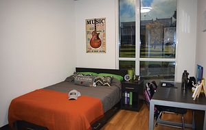 picture of Centennial College Residence model suite at Progress Campus