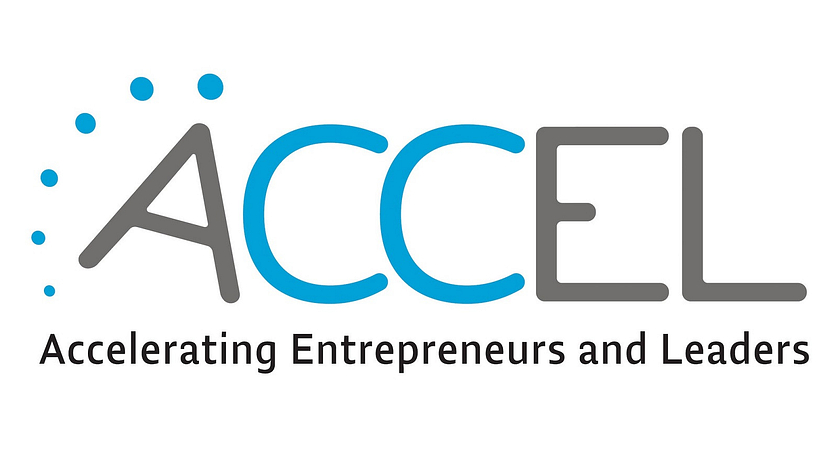 Piture of the ACCEL logo for Accelerating Entrepreneurs and Leaders