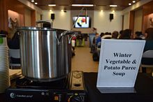 Cooking for a Cause: Culinary Arts students make Soup for Syria Image