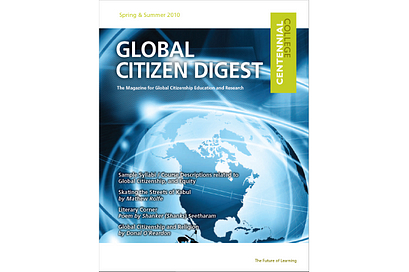 Global Citizen Digest cover Spring and Summer 2010