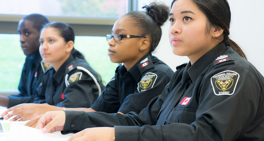 Students PREP for intercollegiate police competition Image