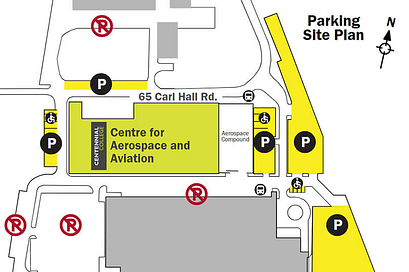 Preview of Downsview Campus Parking Map
