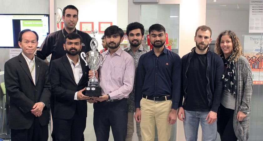 Robotics students win big at Centennial College's Tech fair Image