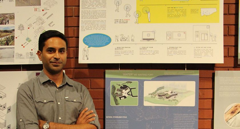 Picture of Centennial College Architectural Technology student Faiyaz Khan