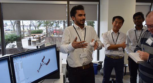 Newly Opened Innovation Hub Ignites Creative Collaboration Among Student Researchers Image