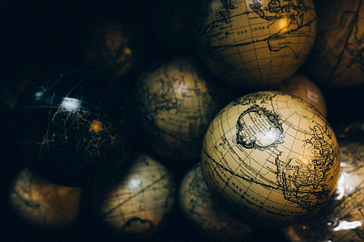 Picture of a globe and
