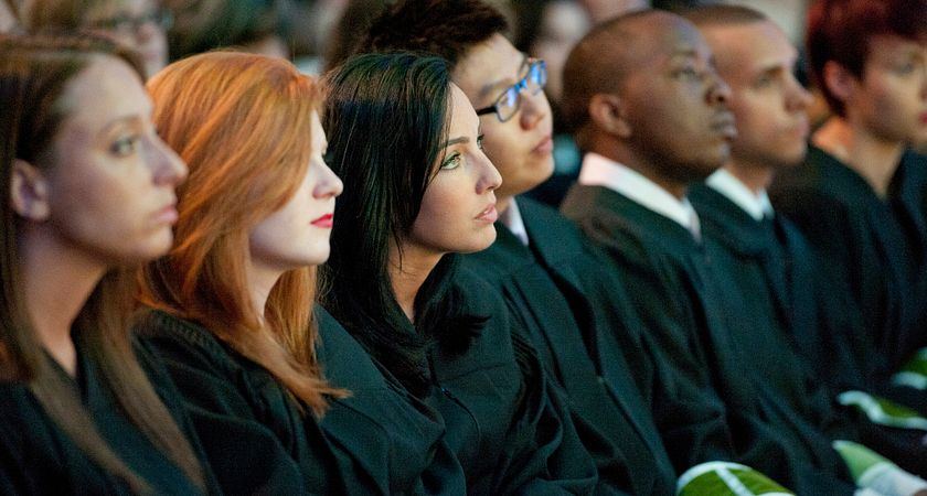 Picture of students at convocation