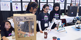 Girls' STEM workshops explore career options Image