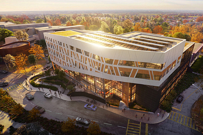 Photo render of future Centennial College Progress Campus A Block