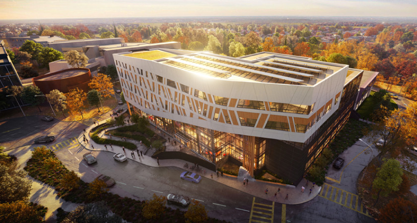 Building the Indigenous, Zero-Carbon, Mass Timber Future of Higher Education Image