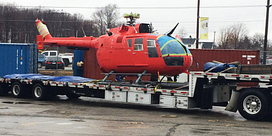 School of Transportation adds Coast Guard helicopter to fleet Image