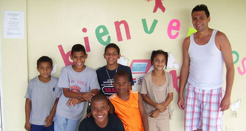 Picture of our friends in Dominican Republic!