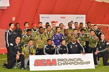 Colts Men's Soccer win silver at OCAA Championship Image