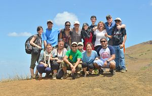 Picture of a group of Centennial College students on Global Citizenship and Equity Learning Experience in Nicaragua