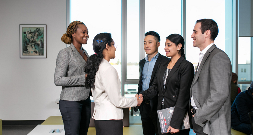 picture of a group of centennial college business bootcamp student