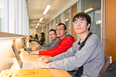 Photo of Centennial College student. This photo links to the Education Pathways page