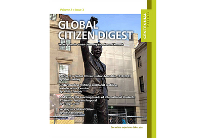 Global Citizen Digest cover Volume 2 Issue 3