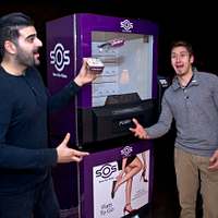 Picture of Centennial College School of Business Alumni Andrew Palillo and Sameer Vadera who started their own company Save our Solez