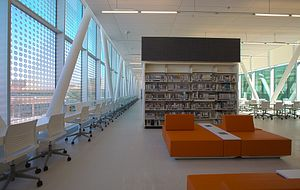 architectural features of the new ashtonbee library