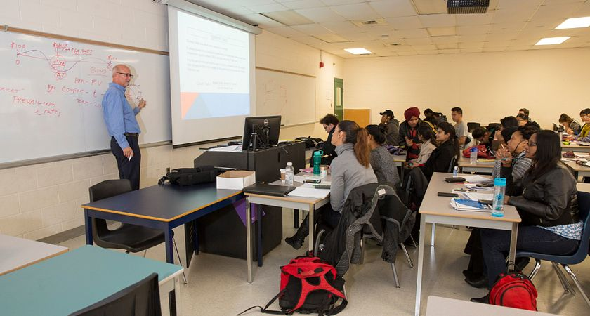 picture of centennial college mutual funds class