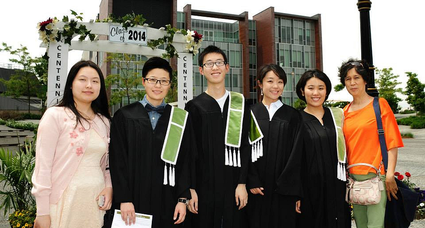 Centennial College International Student Graduates at Progress Campus