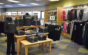 picture of the inside of the centennial college campus bookstore